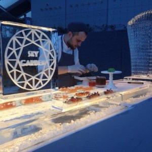 Food display, Frozen, Bar