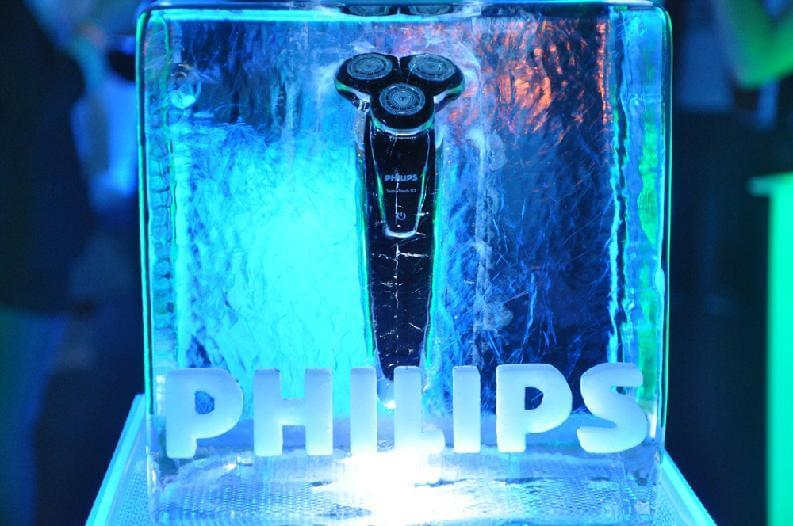 Product in ice, Logo,