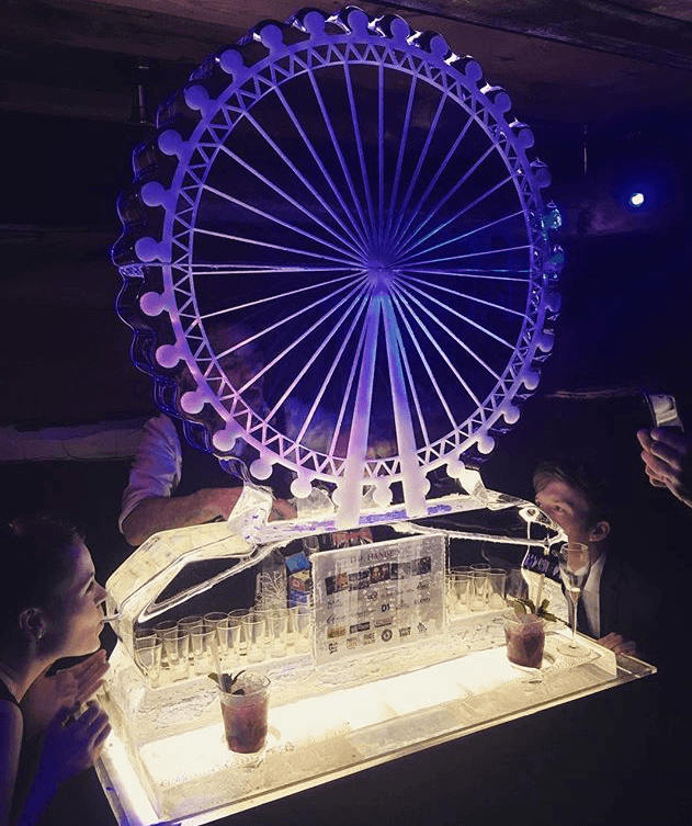 London Eye, Vodka, Luge