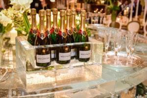 Champagne, Bottle, Holder
