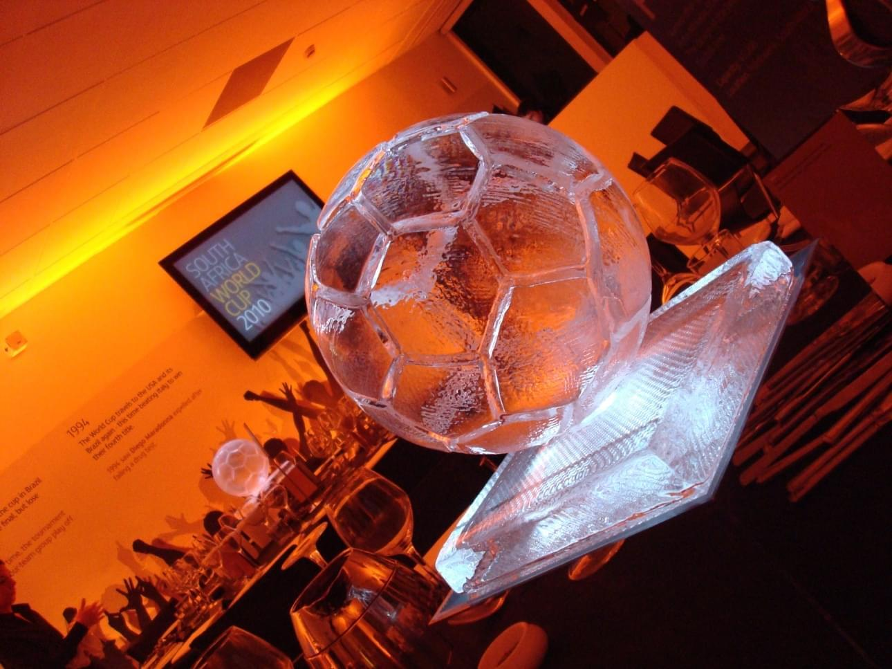 Football, Sphere, Table centre