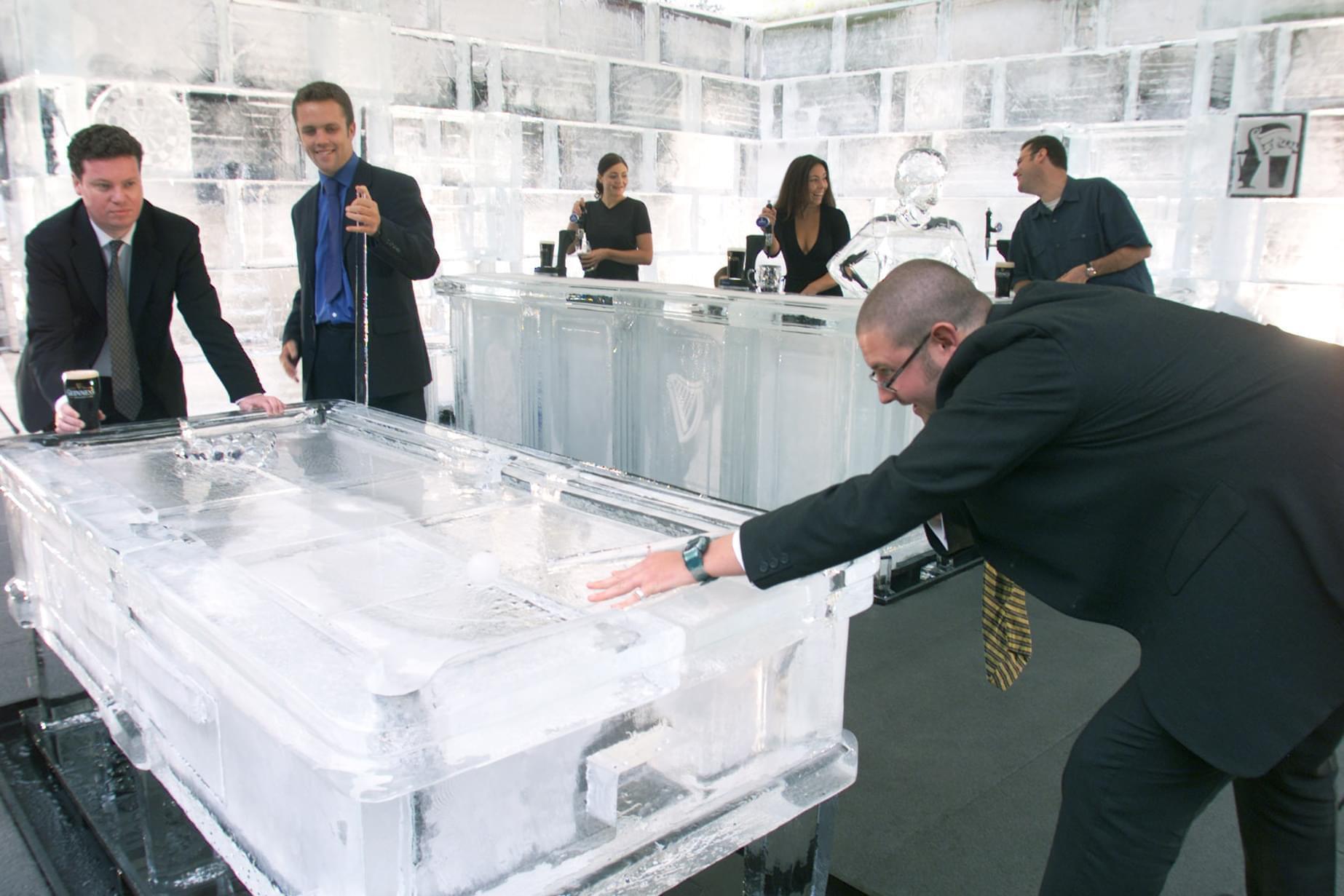 Ice, Pub, Bar, Pool
