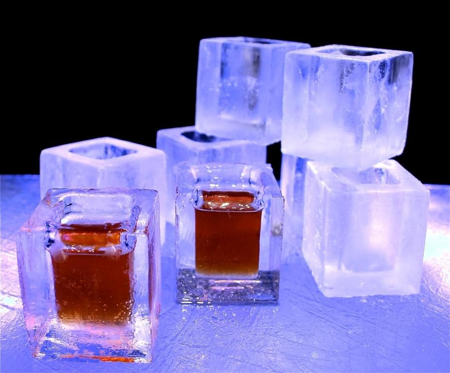 Ice, Shot, Glass