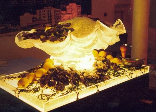 Clam, Shell, Food, Display