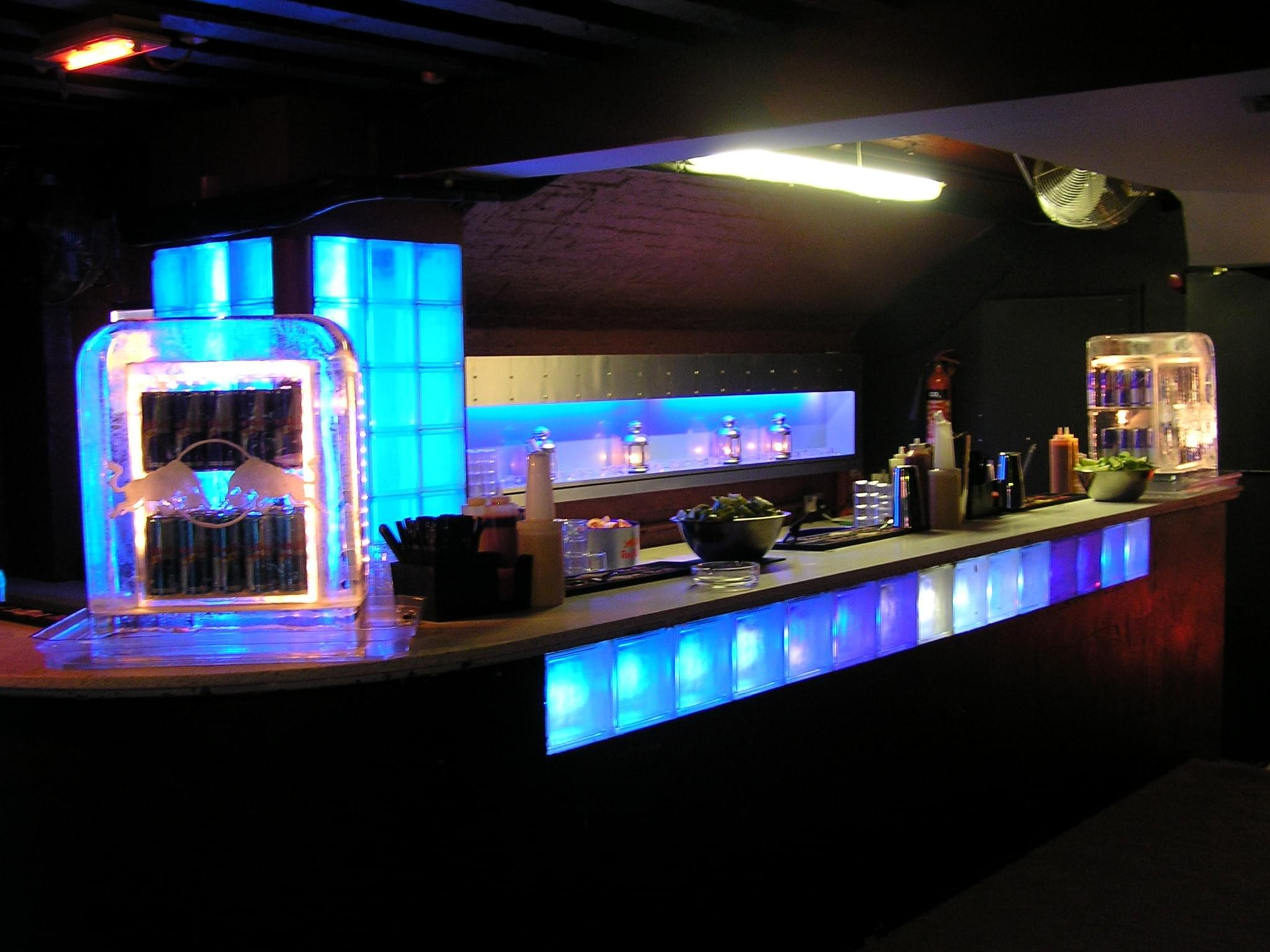 Ice, Bar, Fridge