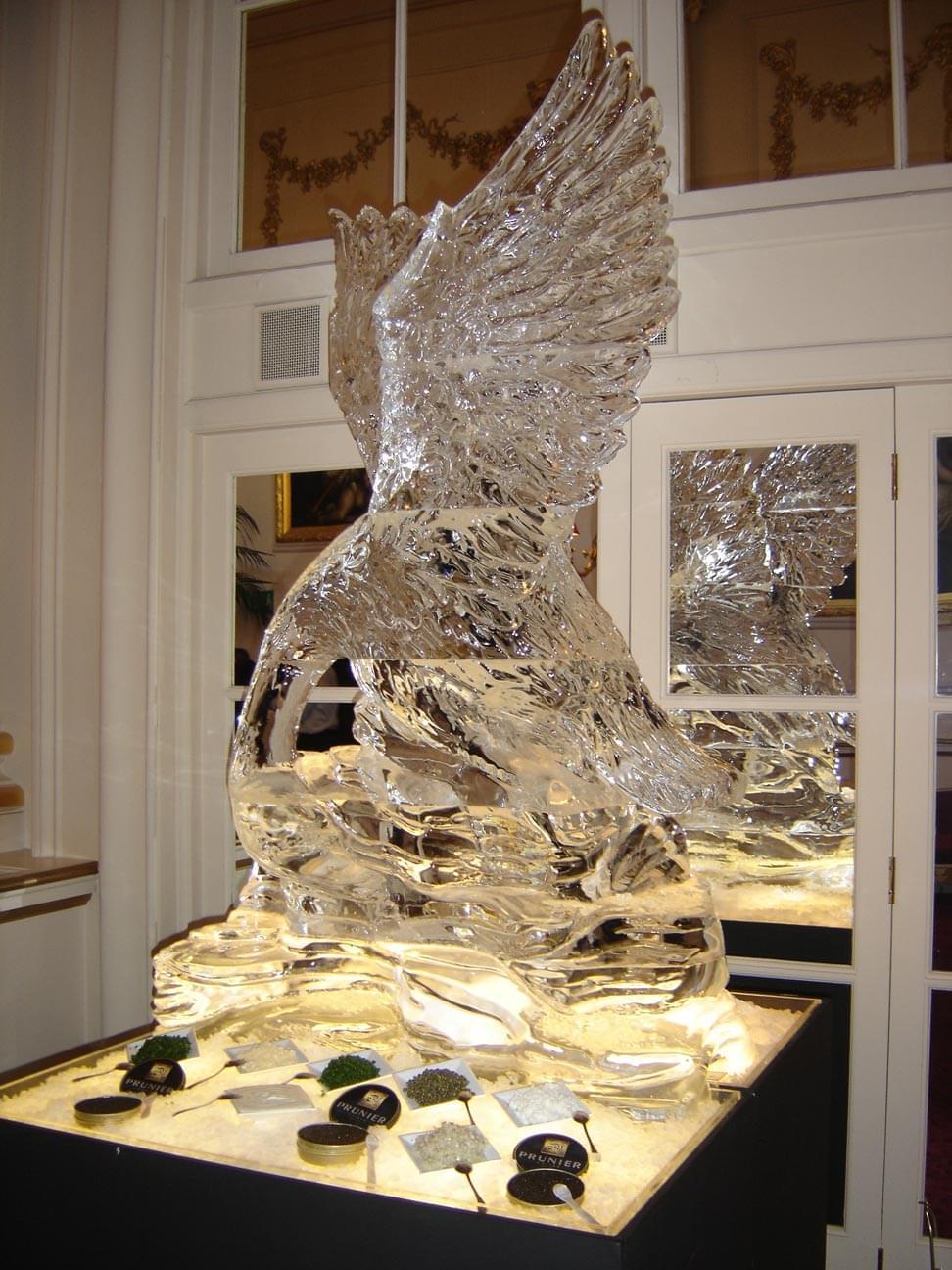 Swan, Wings, Cavier, Seafood