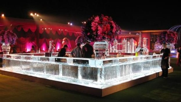 Wedding, Ice, Bar