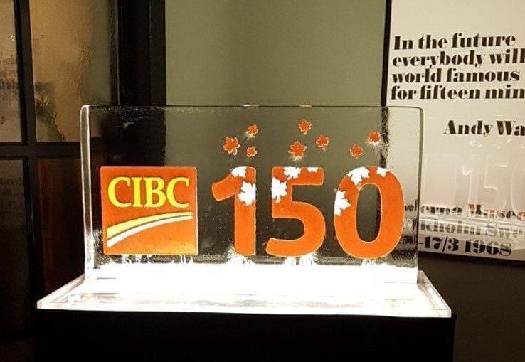 Colour engraved logo for CIBIC