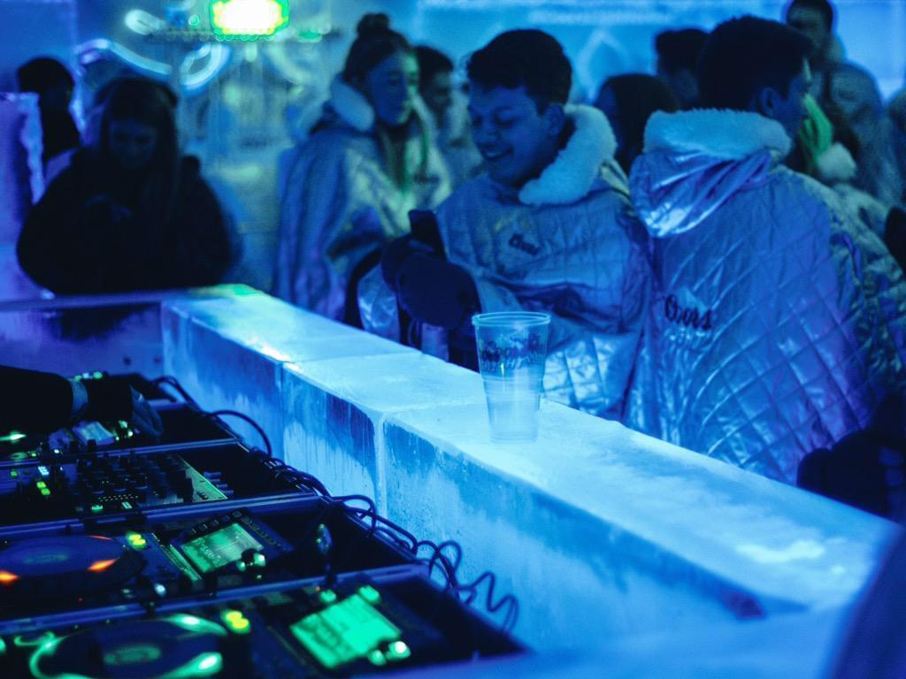 Coors Light Pop Up Ice Bar