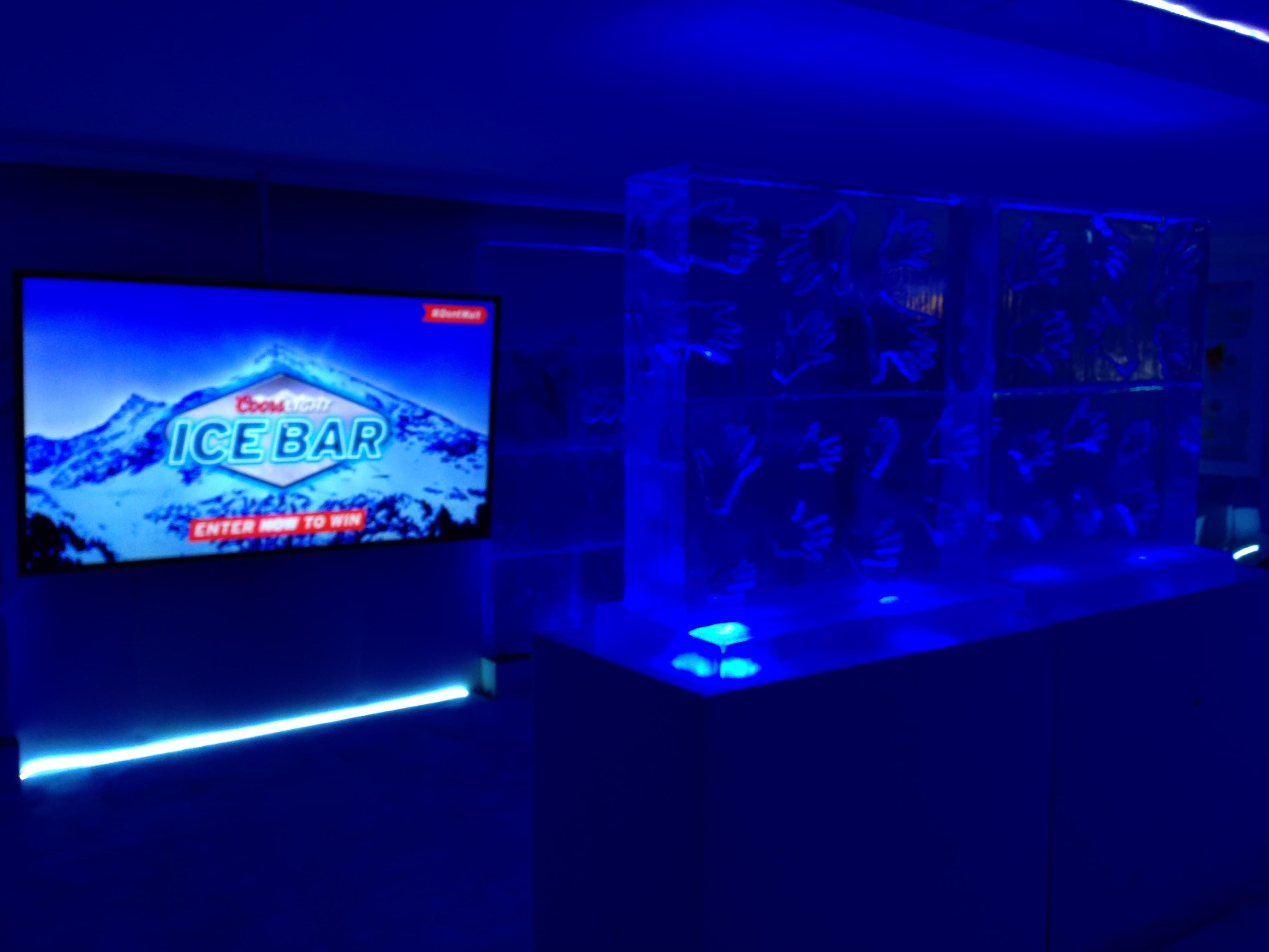 Coors Light Pop Up Ice Bar