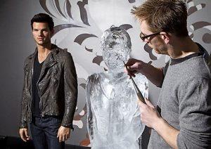 Bella Swan Ice Sculpture at Madam Tussauds