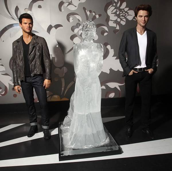 Bella Swan Ice Sculpture at Madam Tussauds