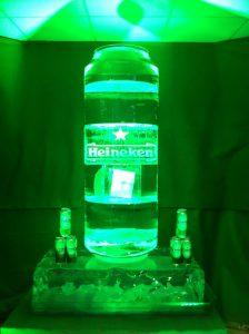 Heineken Can Replica - ice melt competition