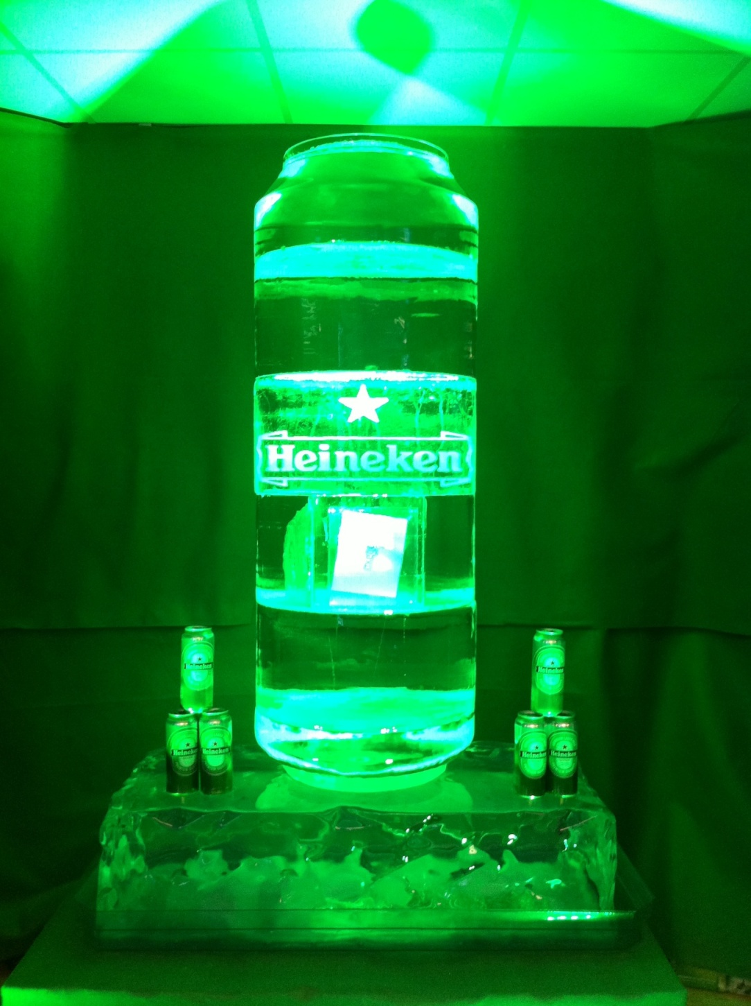 Heineken Can Replica - ice melt competition
