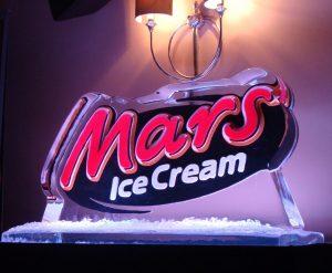 Colour Logo for Mars Ice Cream