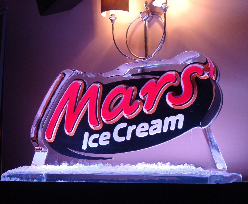 Colour Logo for Mars Ice Cream