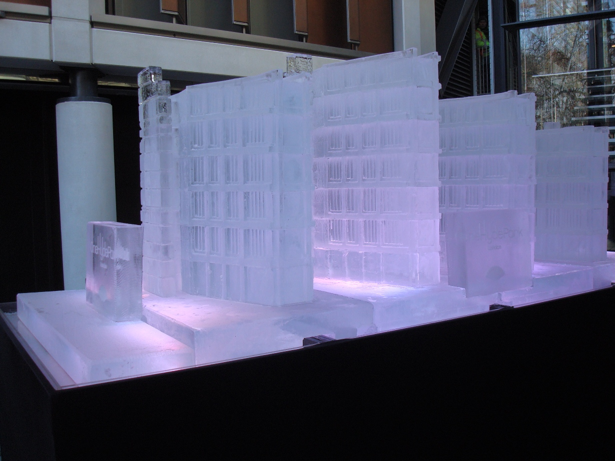 One Hyde Park Ice Building Replica