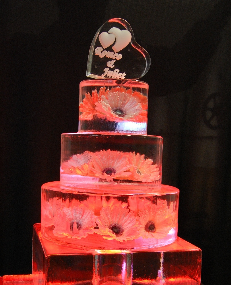 Ice Wedding Cake
