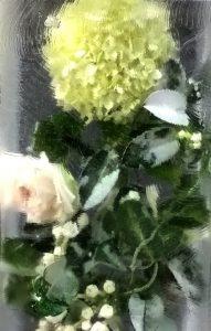 Wedding Bouquet in ice