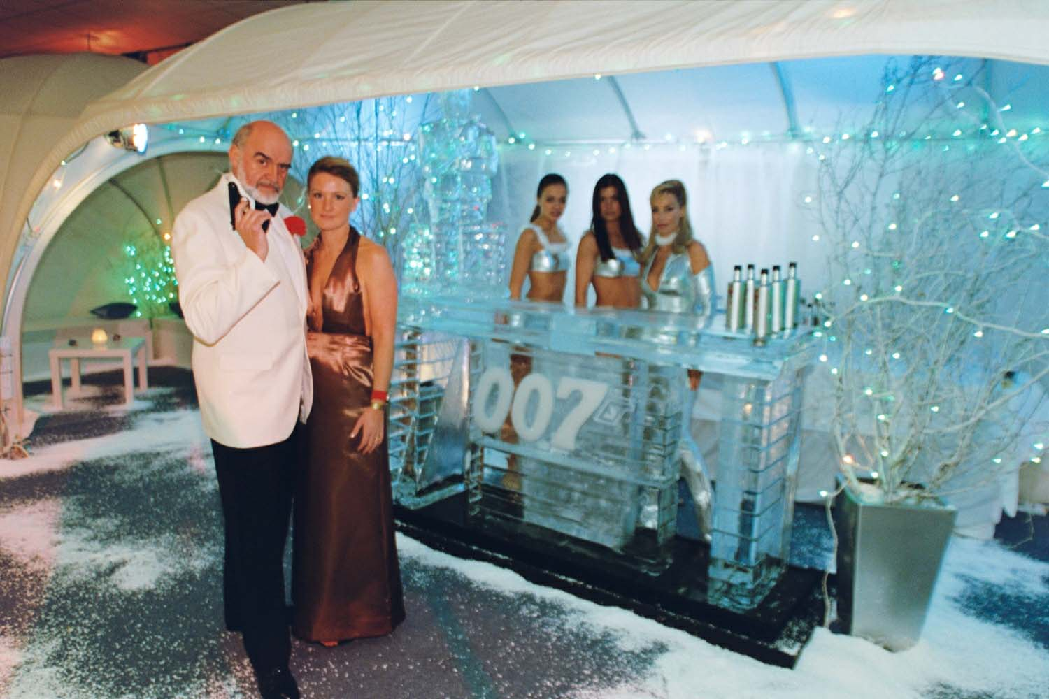 007, Bond Themed, Ice Bar