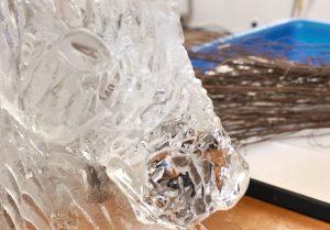 ice sculpting, team building