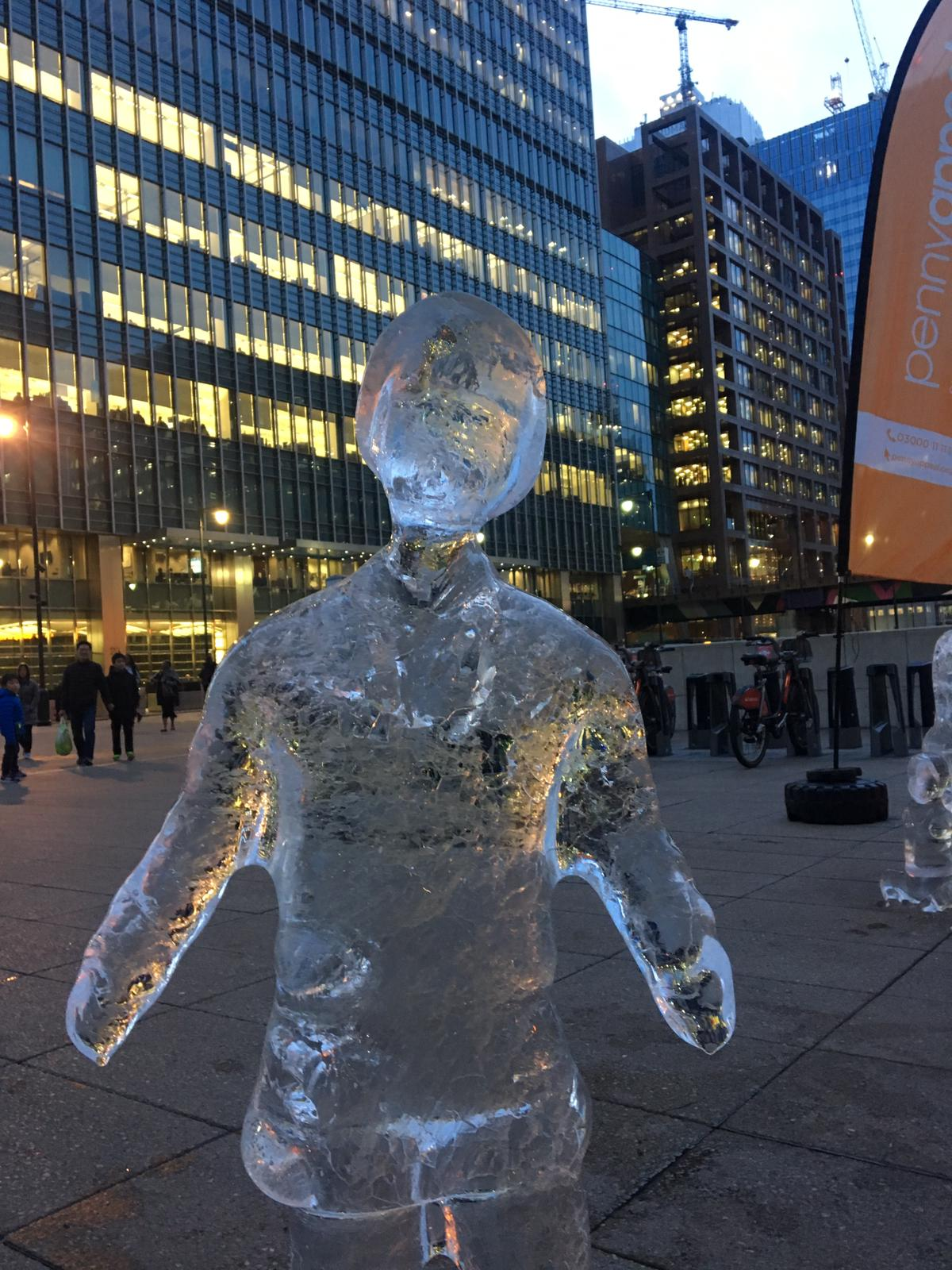 Ice Sculpture Figures