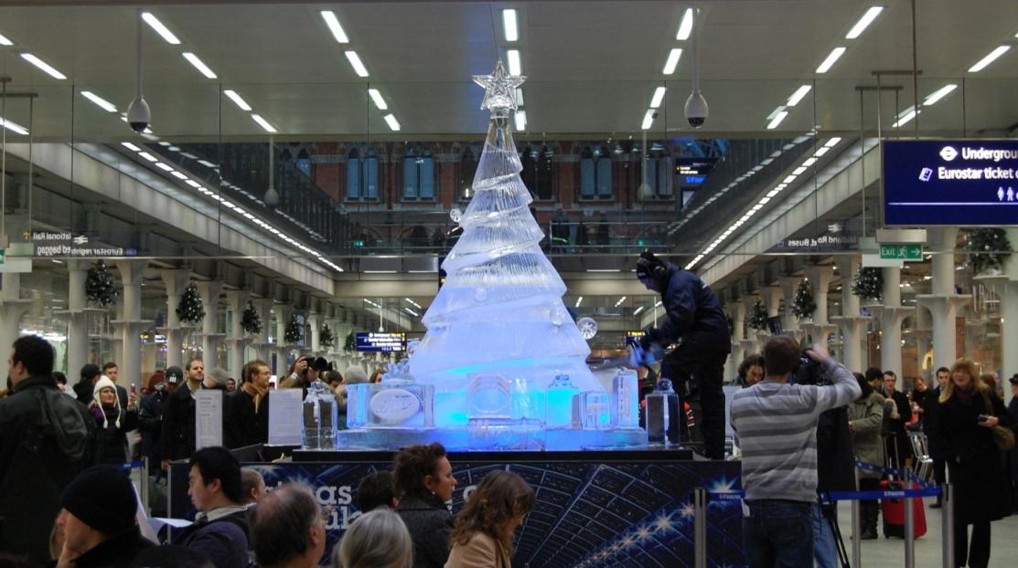 Christmas Tree - St Pancras
