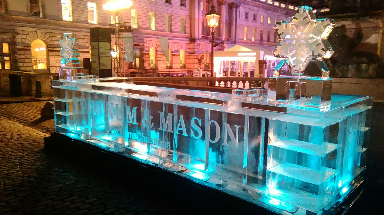 Fortnums Ice Bar at Somerset House