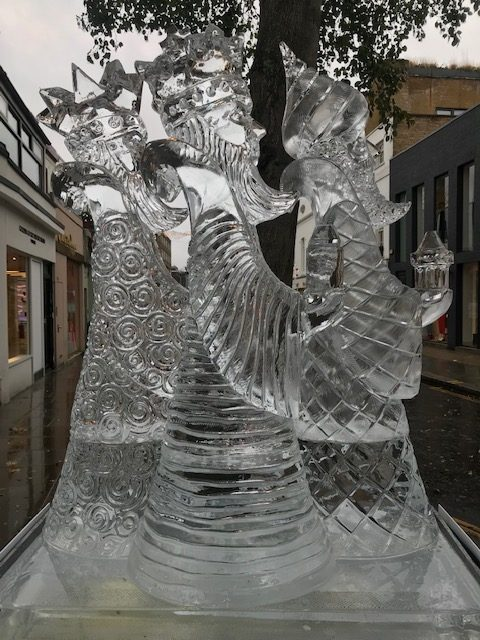 We Three Kings Ice Sculpture