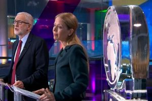Channel 4 Climate Change Debate - Ice Globes